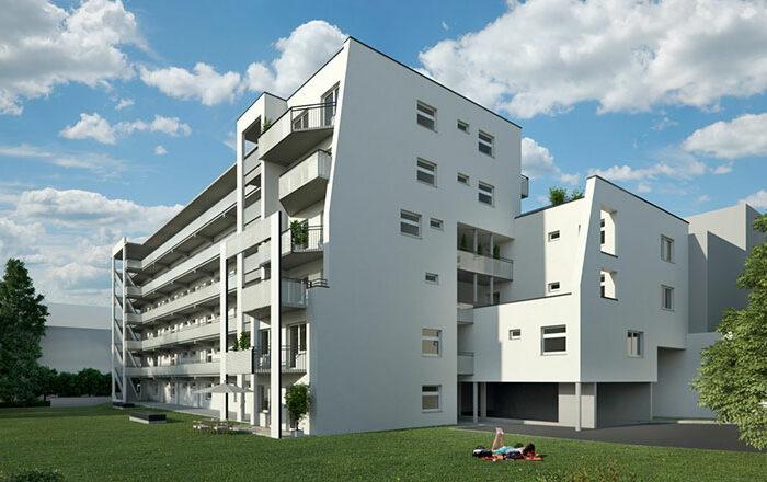 Wohnbau Leonhardstraße BA1