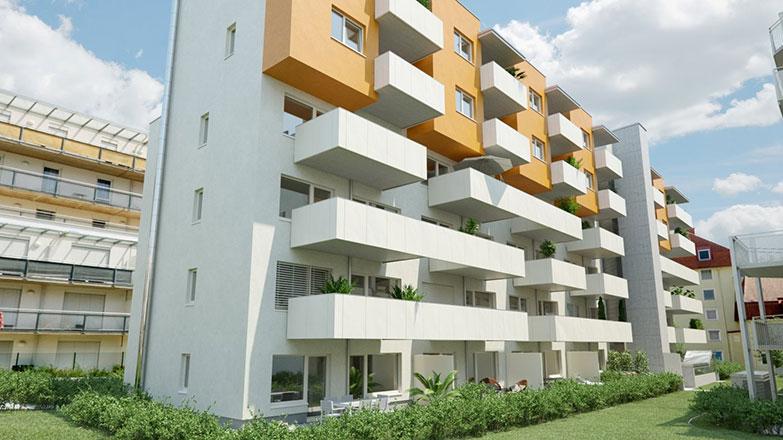 Wohnbau Leonhardstraße BA2